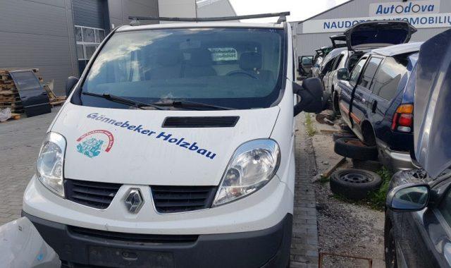 Renault Trafic, 2.0l Dyzelinas, Krovininis 2007m