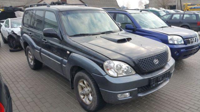Hyundai Teracan, 2.9l Dyzelinas, Visureigis 2005m