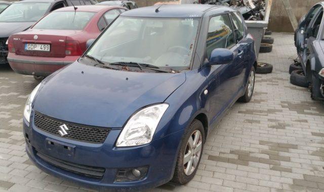 Suzuki Swift, 1.3l Dyzelinas, Hečbekas 2008m