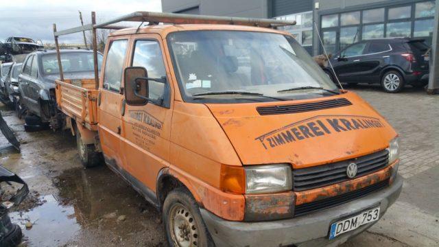 VW Transporter, 2.4l Dyzelinas, Krovininis 1993m