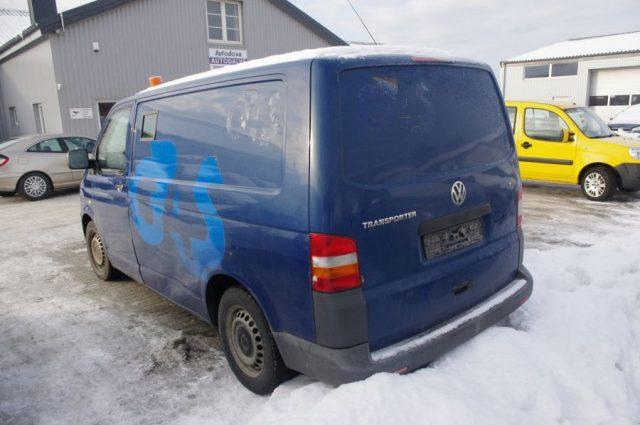 VW Transporter, 2.5l Dyzelinas, Krovininis 2008m