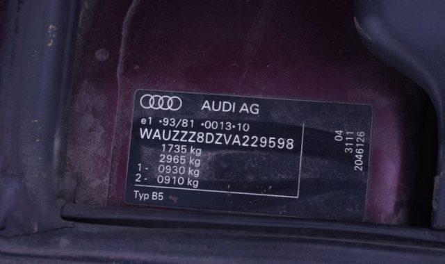 Audi A4, 1.6l Benzinas, Sedanas 1998m