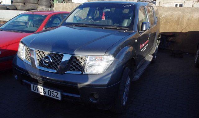 Nissan Pathifinder, 2.5l Dyzelinas, Visureigis 2005m
