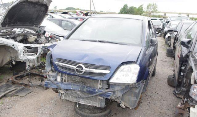 Opel Meriva, 1.7l Dyzelinas, Hečbekas 2004m